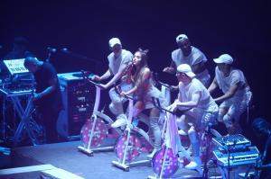 Ariana Grande Performing in Rio de 15