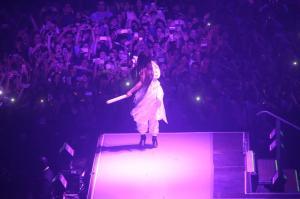 Ariana Grande Performing in Rio de 128