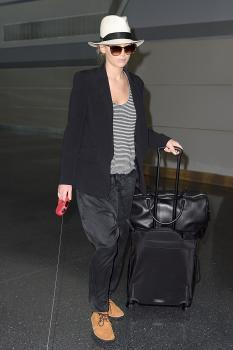 Jennifer Lawrence at JFK Airport 6/22/17 1