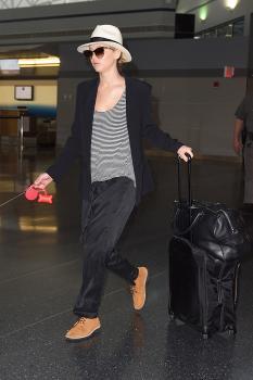 Jennifer Lawrence at JFK Airport 6/22/17 3