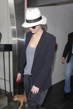 Jennifer Lawrence at JFK Airport 6/22/17 4